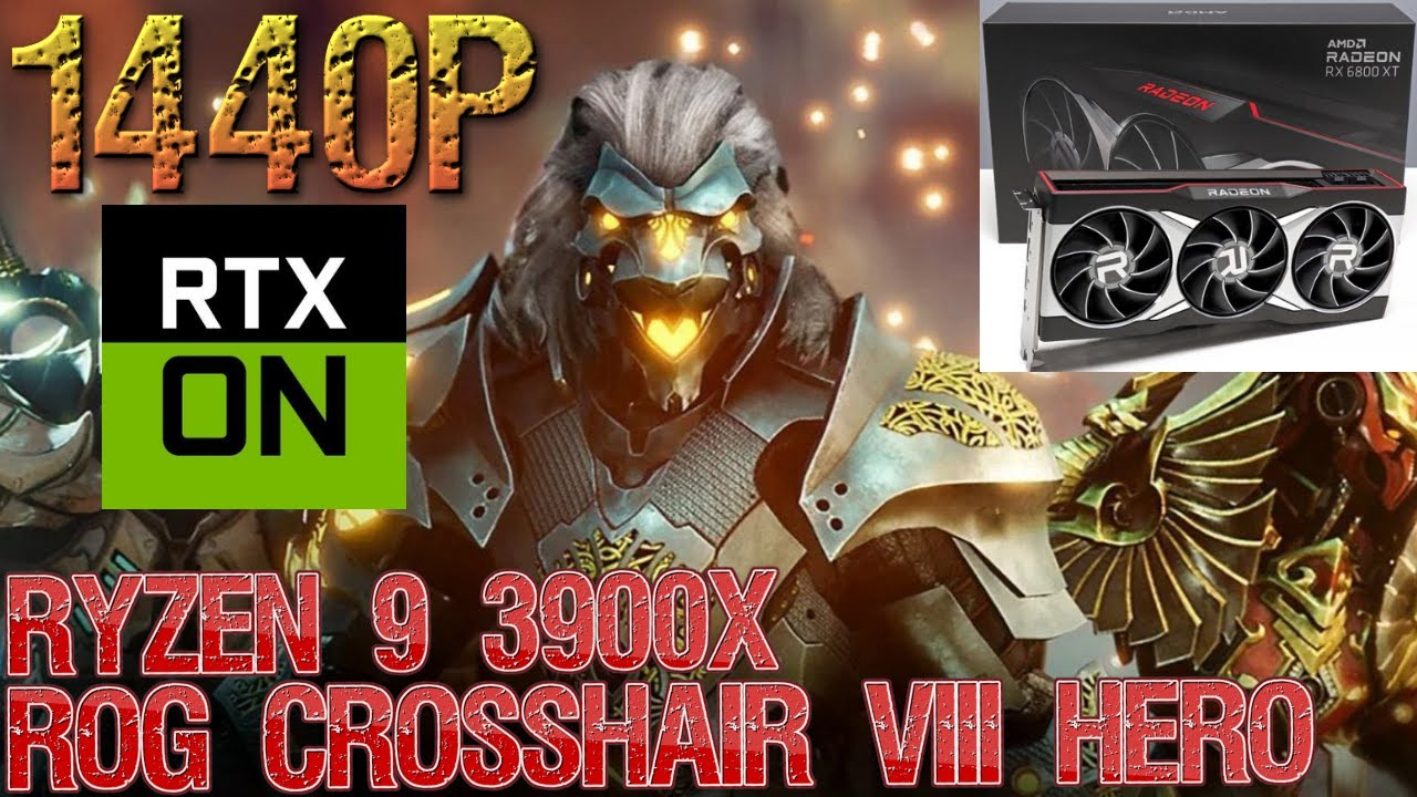 Download Godfall Epic Raytracing 1440p | RX 6800 XT OC | Ryzen 9 3900X