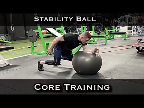 Stability Ball Core Training for BJJ