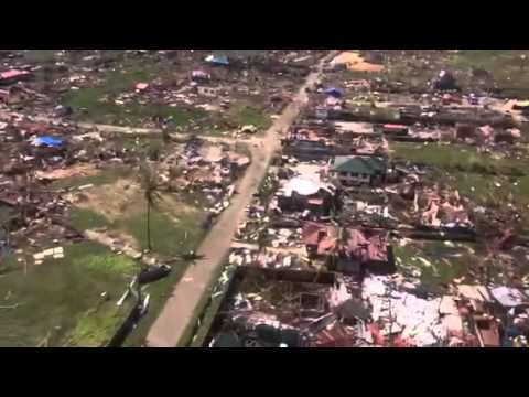 Typhoon PABLO Cateel, Davao Oriental  Aerial Video Clip