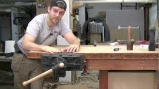 Pattern Maker's Woodworking Vise - Installation