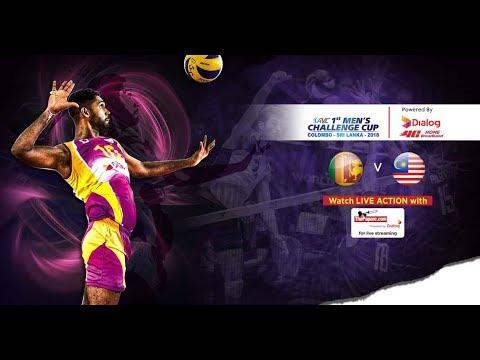 Sri Lanka V Malaysia – 1st Asian Men's Volleyball Challenge Cup