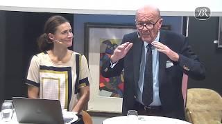 Åbningssamtale mellem Jesper Bruun Rasmussen og TV-vært Sisse Fisker