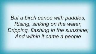 Mike Oldfield - Hiawatha's Departure Lyrics