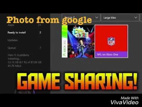 Want to game share xbox one youtube want to game share xbox one ccuart Images