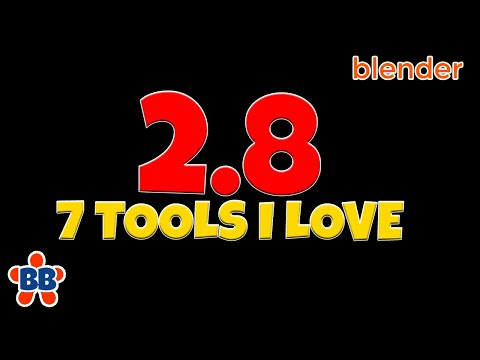 Blender 2.8 - 7 Awesome Modeling Tools You Don't Want To Miss (for New Users)