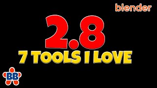 Blender 2.8 - 7 Awesome Modeling Tools You Don't Want to Miss