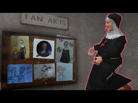 Сбежали из школы! Ужас в школе или Монахиня 1.6.2 Прошли игру! Evil Nun Scary Horror Game Adventure