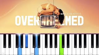 Royal & the Serṗent - Overwhelmed (Piano tutorial)
