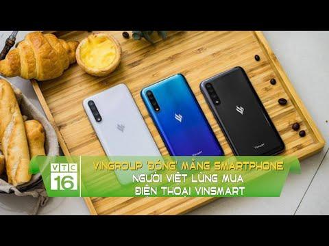 Vingroup 'đóng' mảng smartphone, người Việt lùng mua điện thoại Vinsmart | VTC16