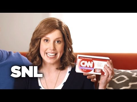 CNN Pregnancy Test - Saturday Night Live