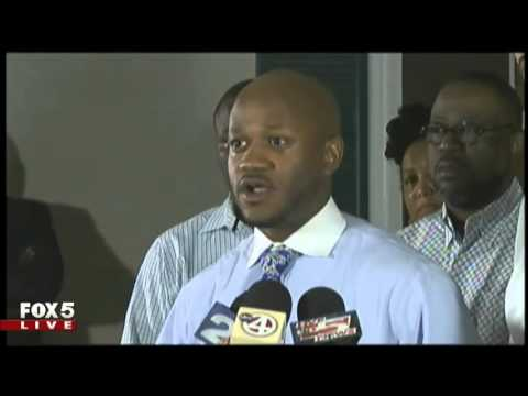 Charleston, SC family press conference on the police shooting