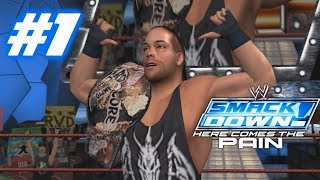 wwe smackdown here comes the pain season mode raw part 1