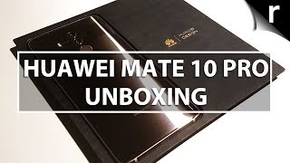 Huawei Mate 10 Pro Unboxing, Setup & Hands-on Review