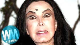 ¡Top 10 TERRIBLES Cirugías Plásticas de Famosos Latinos!