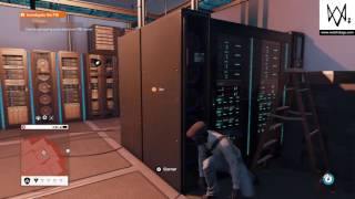 WATCH_DOGS® 2 Download spying post data from FBI server and leave the building
