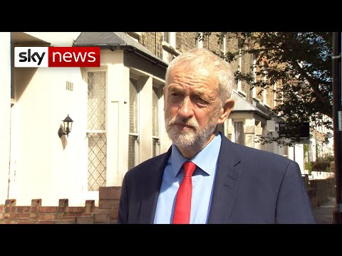 BREAKING NEWS: Corbyn: 'Suspending parliament is not acceptable'