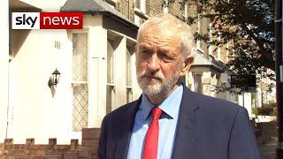 Corbyn: 'Suspending parliament is not acceptable'