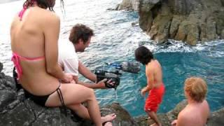 Tetsuo cliff jump