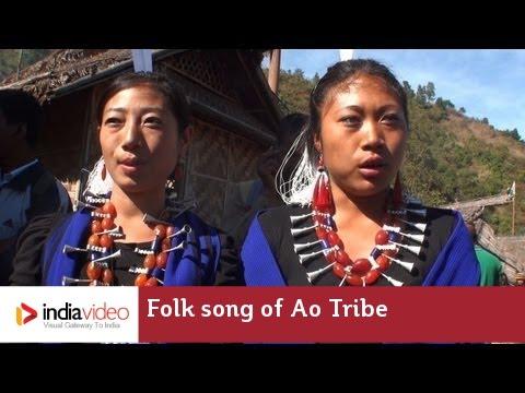 Folk song of Ao tribe, Nagaland | India Video