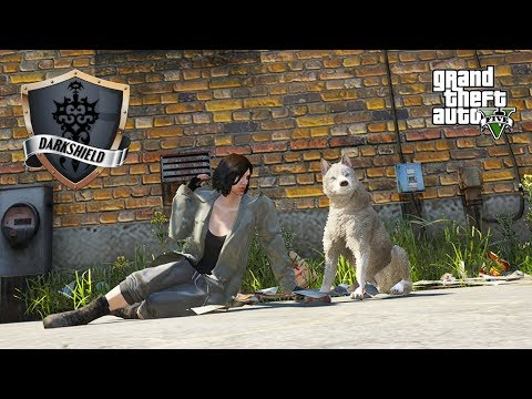 GTA 5 Roleplay - Darkshield - #12 - The Dog and the Stray.