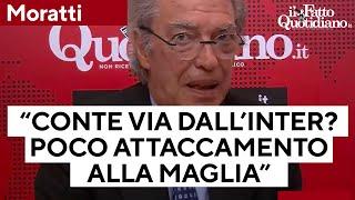 Addio di Conte all'Inter, Moratti: