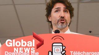 Coronavirus: Trudeau Announces Covid Alert App, Transition Of Cerb Benefits To Ei | Full
