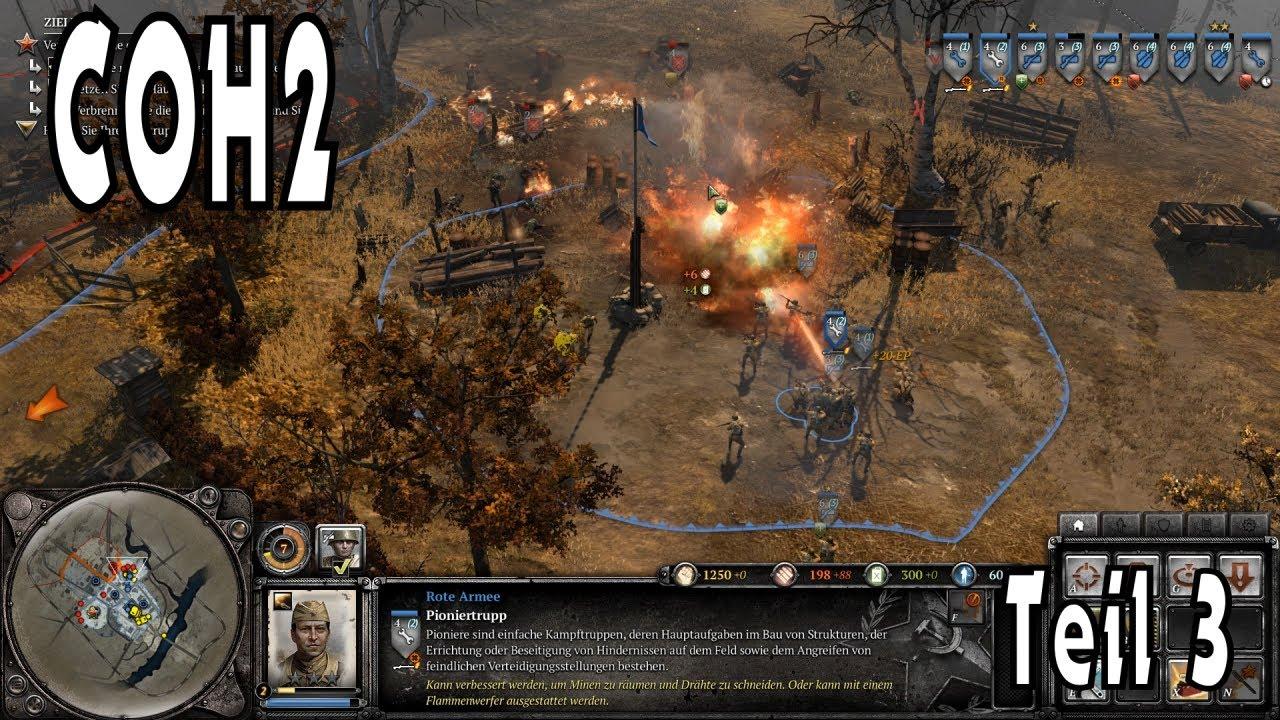 Company of heroes 2 #3 - Verbrannte Erde - Teil 1 - STA - Let\'s Play ...