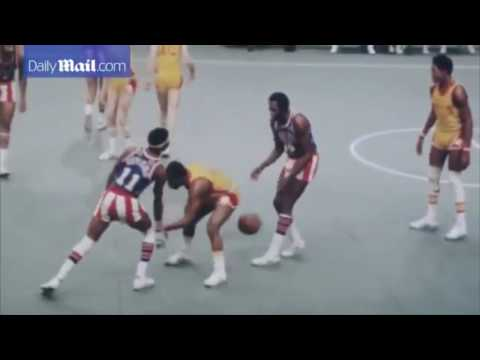 Funny Basketball Game (Harlem Globetrotters)