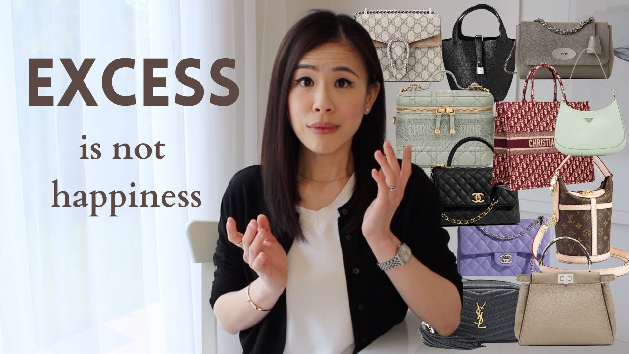 Excessiveness Won't Make You Happy| you don't need major designer unboxing luxury haul MINIMALISM AD
