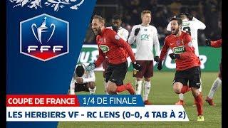 Coupe de France, quarts de finale : Les Herbiers VF-RC Lens (0-0, 4 tab à 2), le résumé I FFF 2018