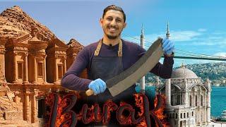"""سهرة طبخ وأكل مع الشيف بوراك - مطعم المدينة في اسطنبول """"مطعم بوراك في الأردن"""""""