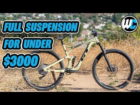 GT's Full Suspension MTB That Won't Destroy Your Wallet!