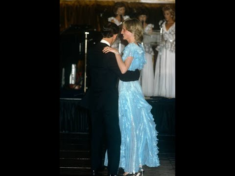 Princess Diana and Prince Charles dancing in Australia (1983)