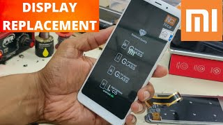 mi 5  display replacement Hindi [dissembling] Xiaomi Redmi 5 LCD-Touch Replacement