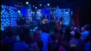 The Airborne Toxic Event - Sometime Around Midnight (Jimmy Kimmel Live)