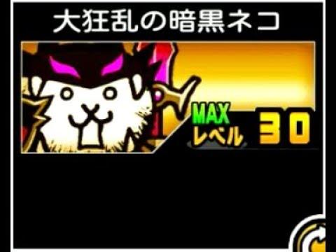 にゃんこ大戦争大狂乱の暗黒ネコ