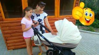 ВЛОГ  Обзор на коляску /Оur stroller for the baby
