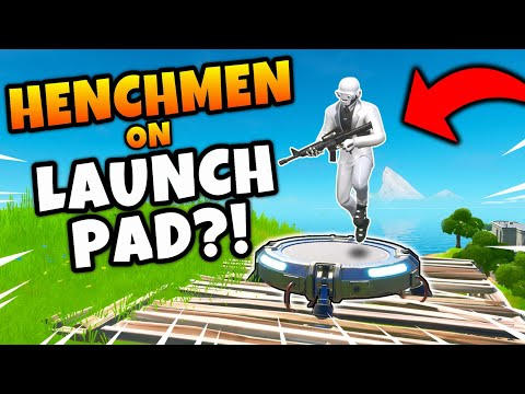 What Happens When a HENCHMEN uses a LAUNCH PAD? (Must See)