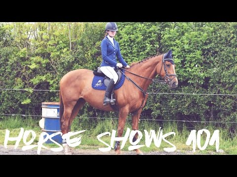 How I Tack up for Show Jumping // Horse Shows 101