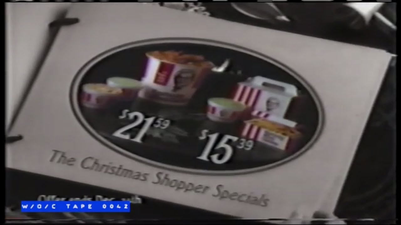 Kentucky Fried Chicken Christmas Commercial - 1989 - YouTube