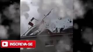 Tufão Nº21 fazendo estrago por todo Japão