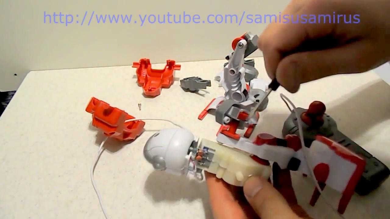 Машина робот трансформер на пульте управления - YouTube