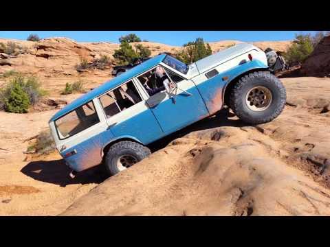 FJ55 at Moab - The amazing little S-10