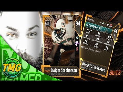 NEW LIMITED TIME 93 DWIGHT STEPHENSON COMING TOMORROW!!| MADDEN 18 ULTIMATE TEAM