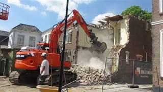 Sloop vaart NZ voor nieuwbouw appartementen