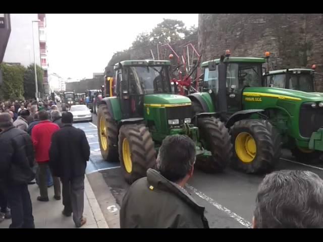 Los tractores regresan a Lugo para quedarse