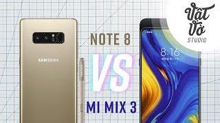 So sánh Mi Mix 3 vs Galaxy Note 8