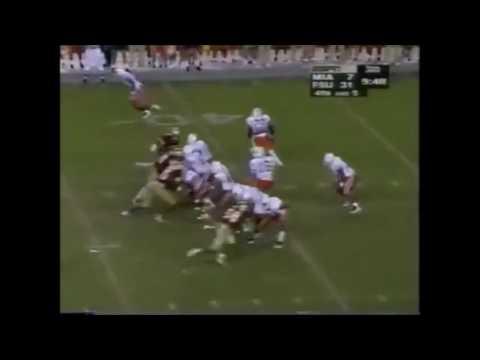1995 Miami vs Florida State Highlites