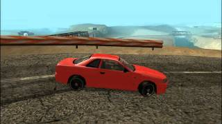 GTA SA Elegy Drift As 2000 Nissan Skyline.