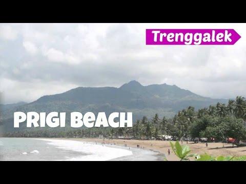 The Rumble Waves at Prigi Beach, Trenggalek - East Java